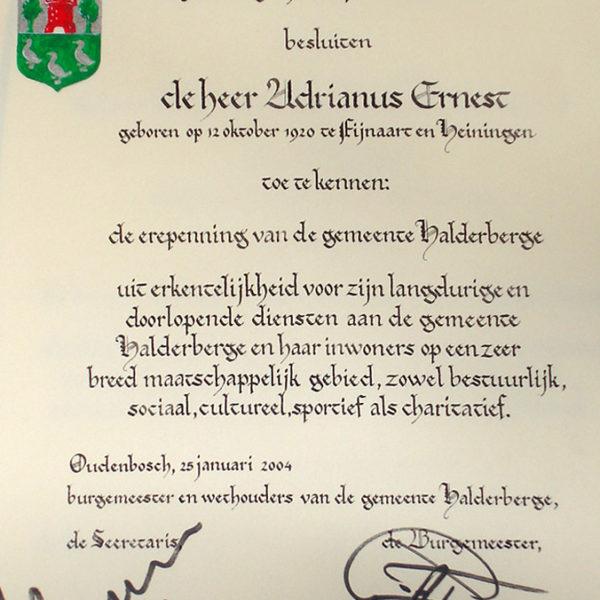 Calligraphic work – 8